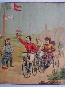 Course de vélo 1900