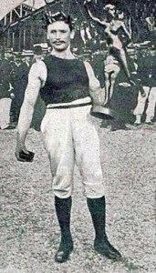 Gustave Sandras champion olympique du concours général de gymnastique 1900