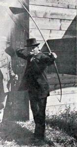 Tir à l'arc - JO - 1900