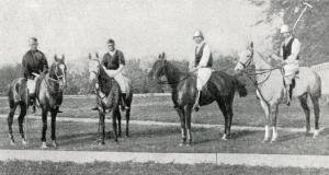 Polo - Club de Paris - JO - 1900