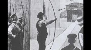 Tir à l'arc 1900